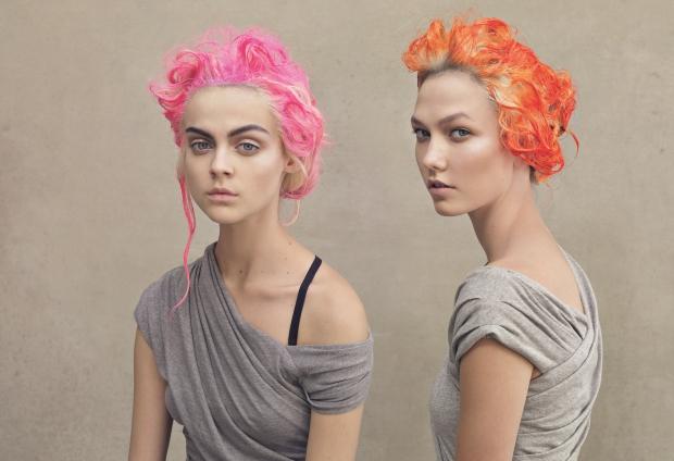 Девушка модель для окрашивания волос работа принципов работы сети на уровне модели osi