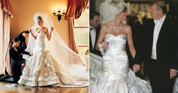 Все о свадебном платье Мелании Трамп | Vogue Ukraine - Vogue UA