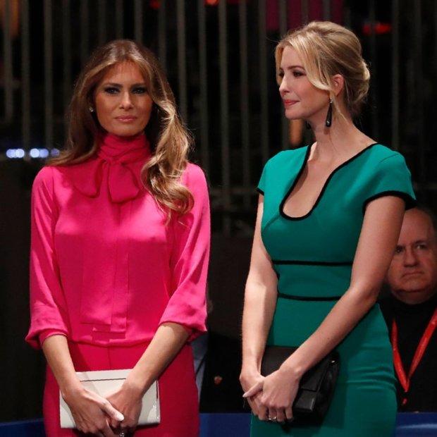 Стало известно имя дизайнера платья, которое Мелания Трамп надела наинаугурацию