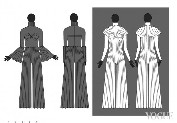 Дизайнери показали ескізи одягу Джамали на Євробачення - Радіо Максимум 0cd4b2c1264dc