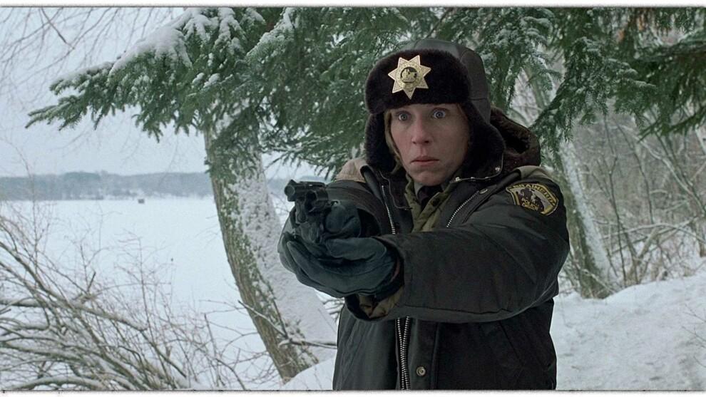 Фрэнсис Макдорманд в фильме «Фарго», 1996
