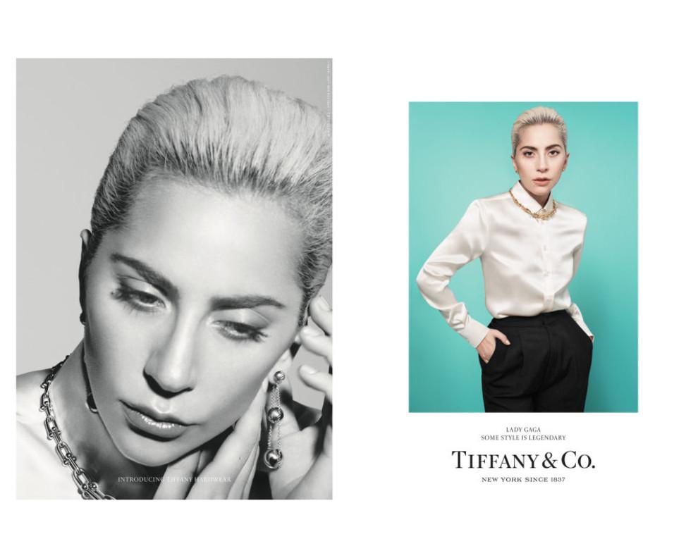 Первые кадры. Леди Гага вкампейне Tiffany & Co