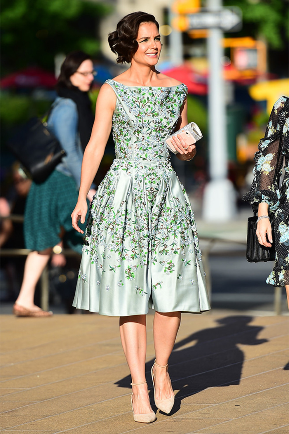 Кэти холмс платья фото