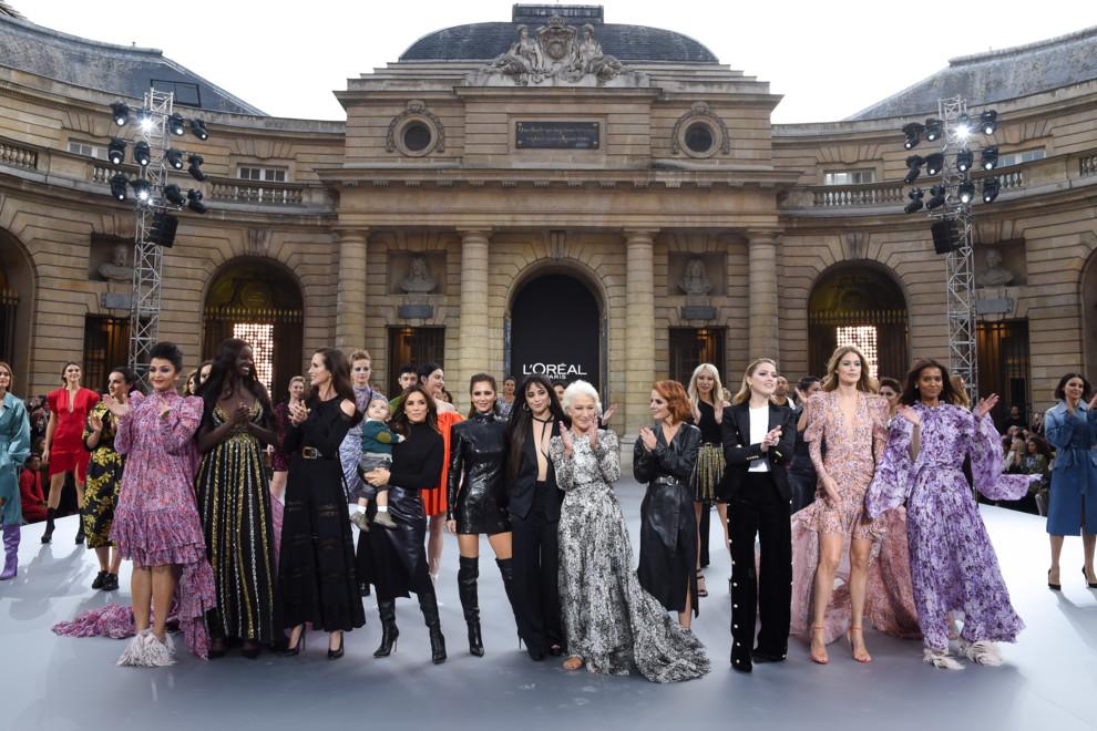 Дизайнер Катя Сильченко выступила моделью на показе L'Oreal в Париже (фото 1)