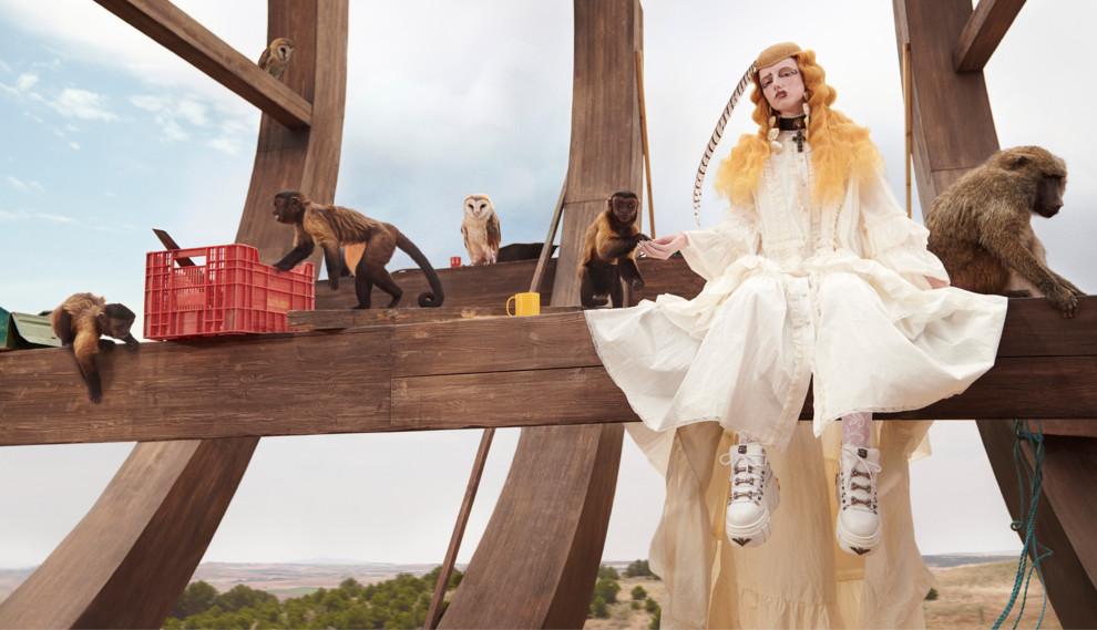 Ноев ковчег  рекламная кампания Gucci Resort 2019   Vogue Ukraine 1856ba0b64b