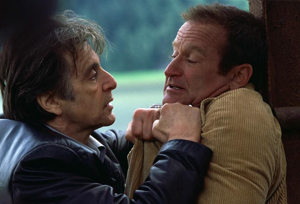 Аль Пачино и Робин Уильямс в фильме «Бессонница», 2002