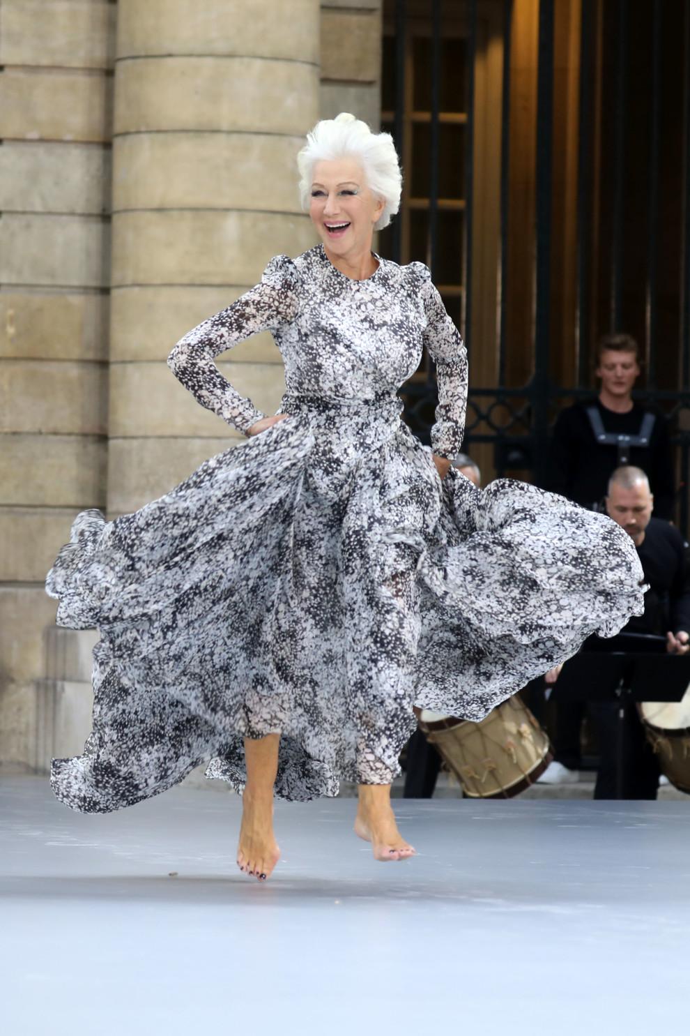 Дизайнер Катя Сильченко выступила моделью на показе L'Oreal в Париже (фото 5)