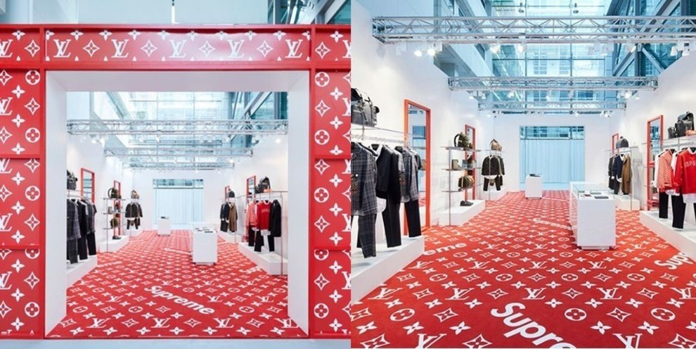 Поп-ап-магазины Supreme X Louis Vuitton | Vogue Ukraine - Vogue UA
