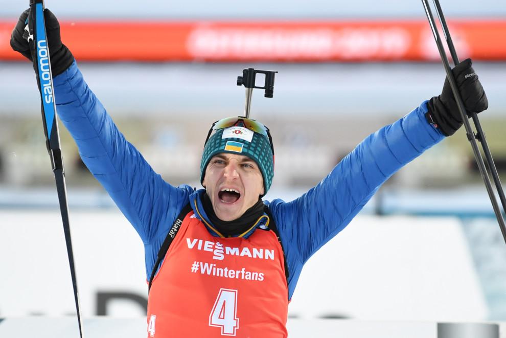 Биатлонист Пидручный стал спортсменом месяца в Украине