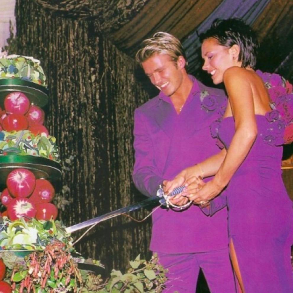Виктория иДэвид Бекхэм отпраздновали годовщину свадьбы