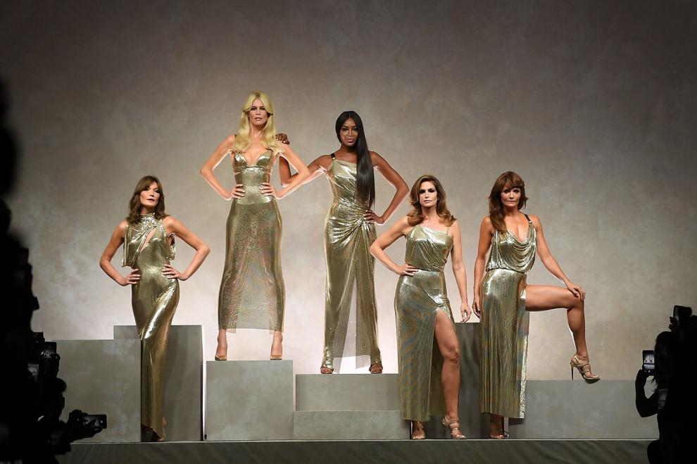 Versace представили коллекцию весна/лето 2018