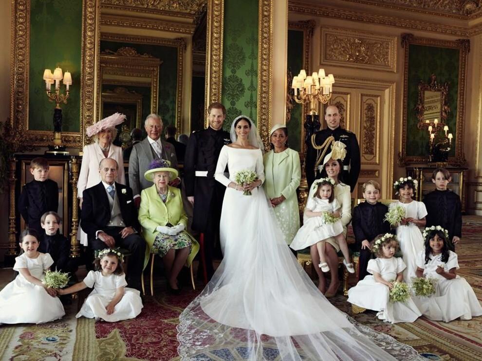 Свадьба принца Гарри и Меган Маркл: фото | Vogue Ukraine - Vogue UA