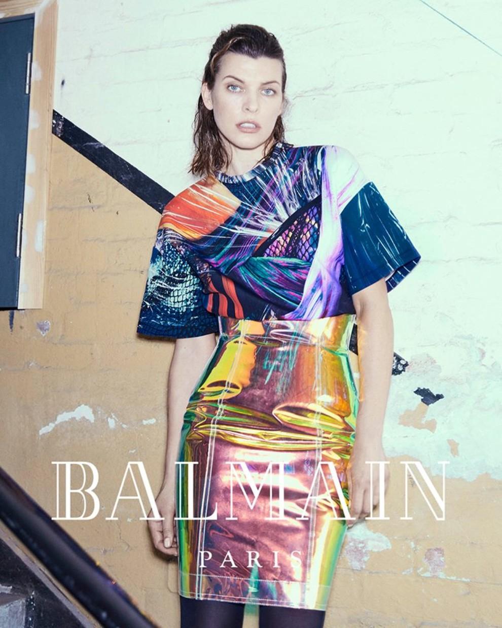 Картинки по запросу Balmain Milla Jovovich