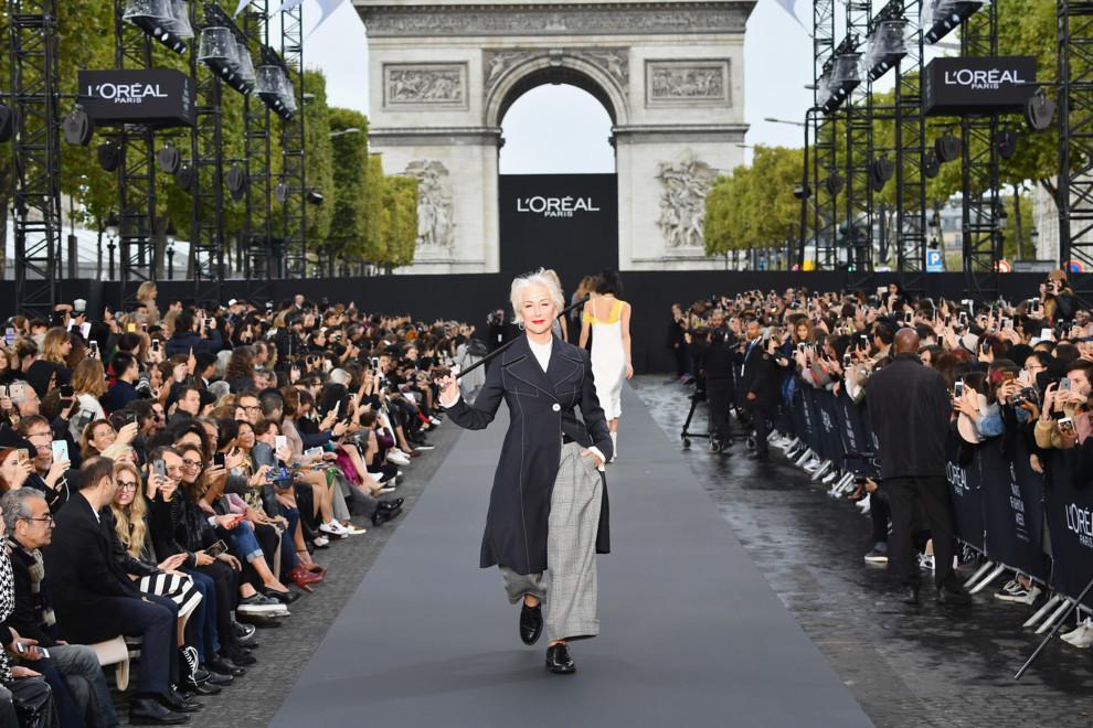72-летняя Хелен Миррен стала моделью