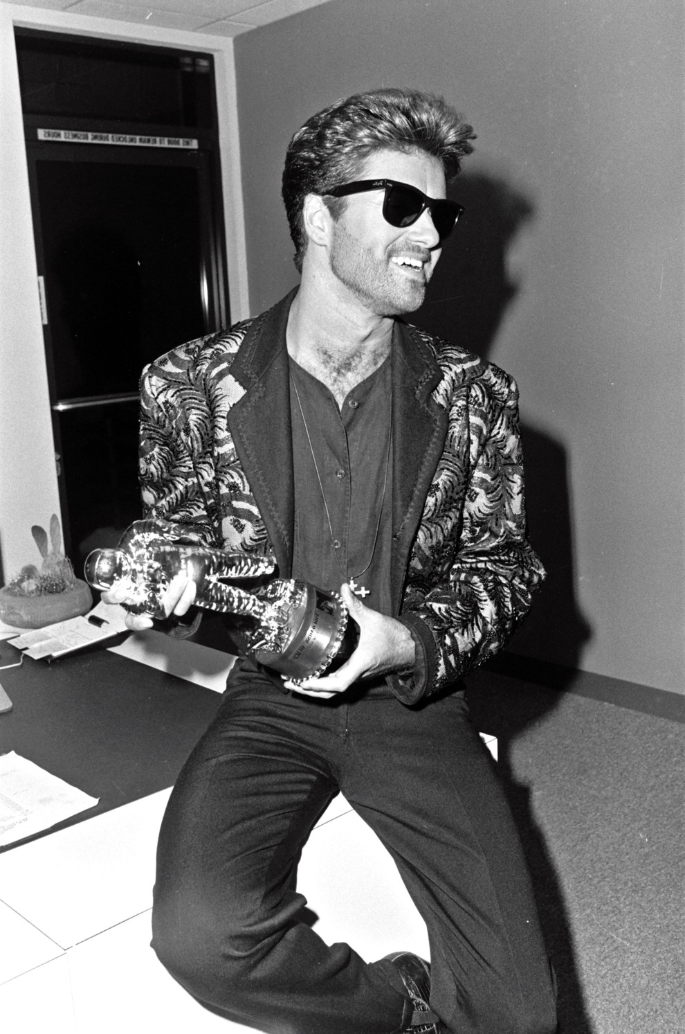 George Michael MTV Music Awards 1989