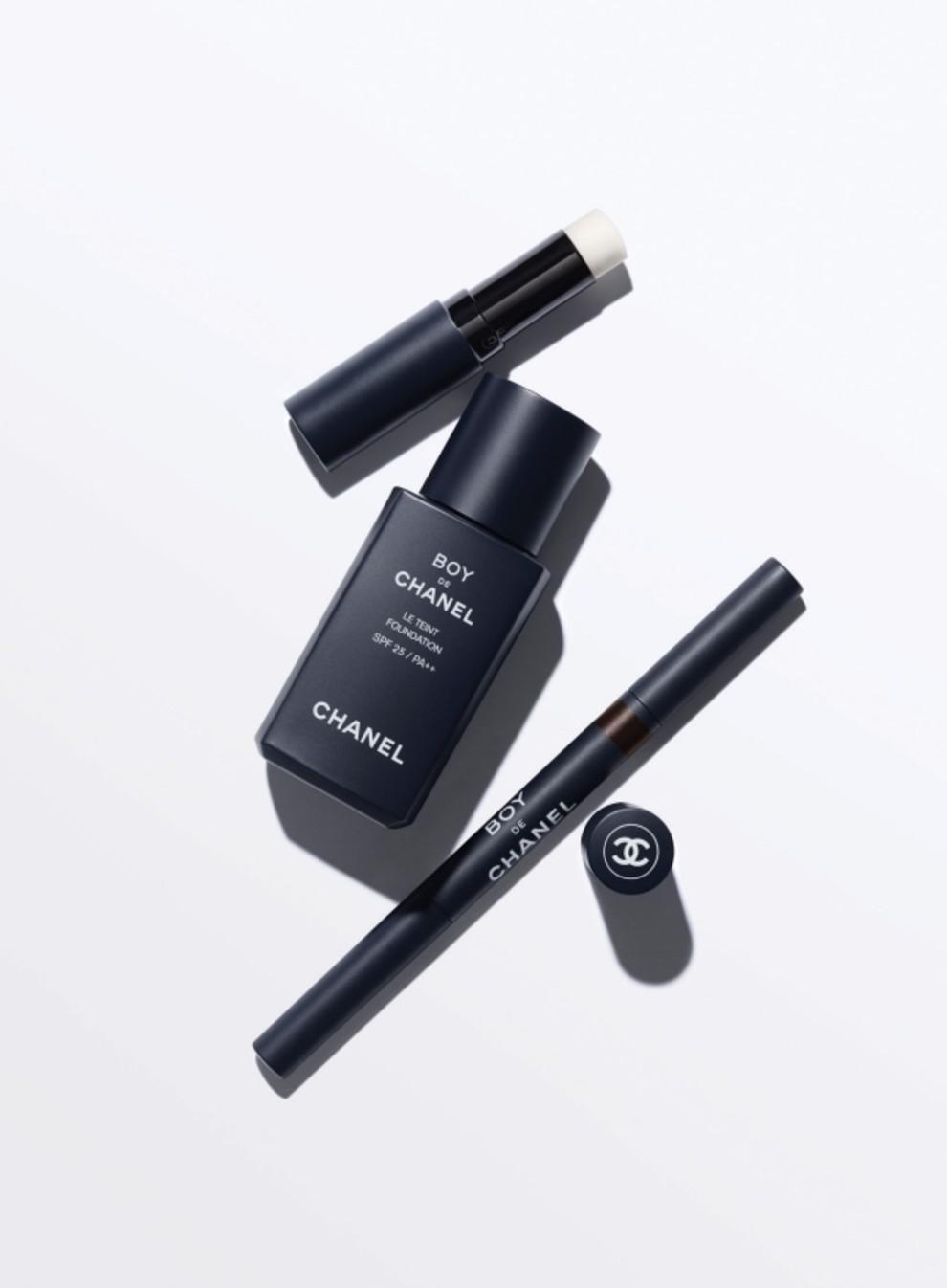мужская коллекция макияжа Chanel Vogue Ukraine Vogue Ua