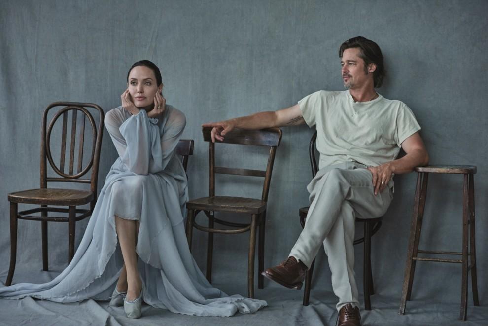 Анджелина Джоли разозлилась на репортеров из-за вопросов оБрэде Питте