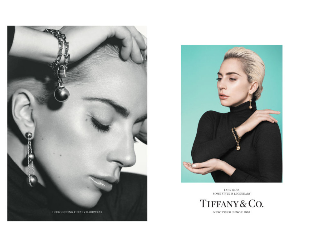 Вглобальной сети появились первые кадры сфотосессии Леди Гаги для Tiffany&Co