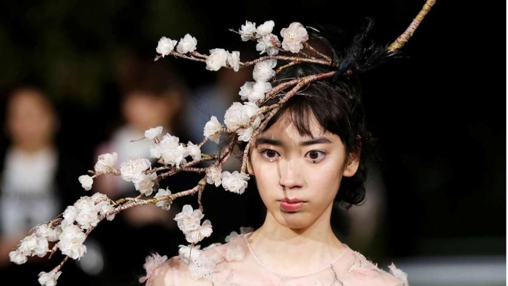 Показ Christian Dior Couture весна-літо 2017 в Японії.