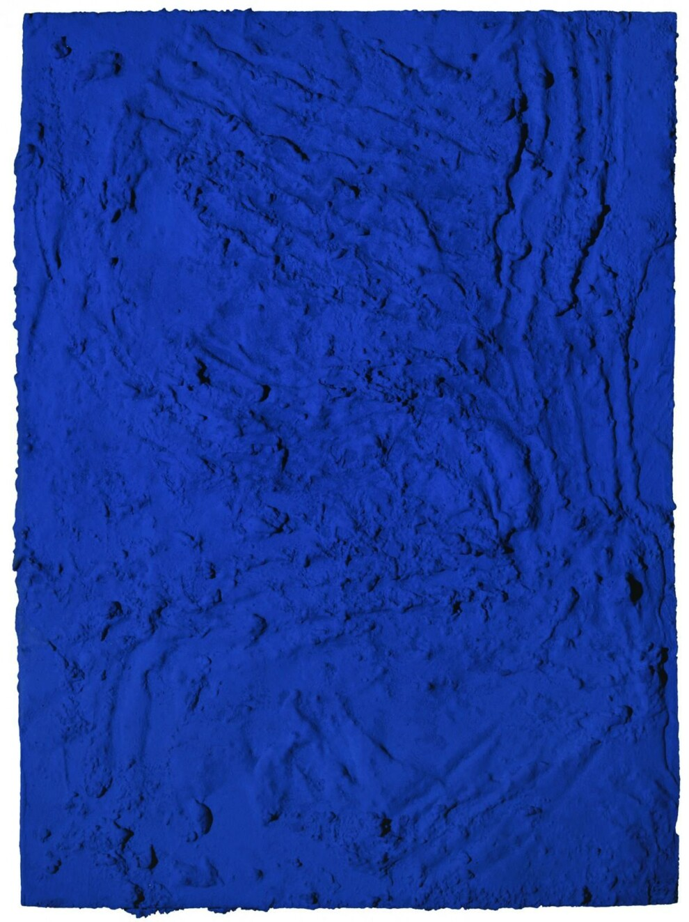 Ив Кляйн, Untitled Planetary Relief (RP 8), 1961 @Yves Klein Archives