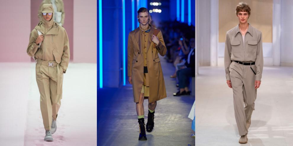 Dior Men, Prada, Lemaire