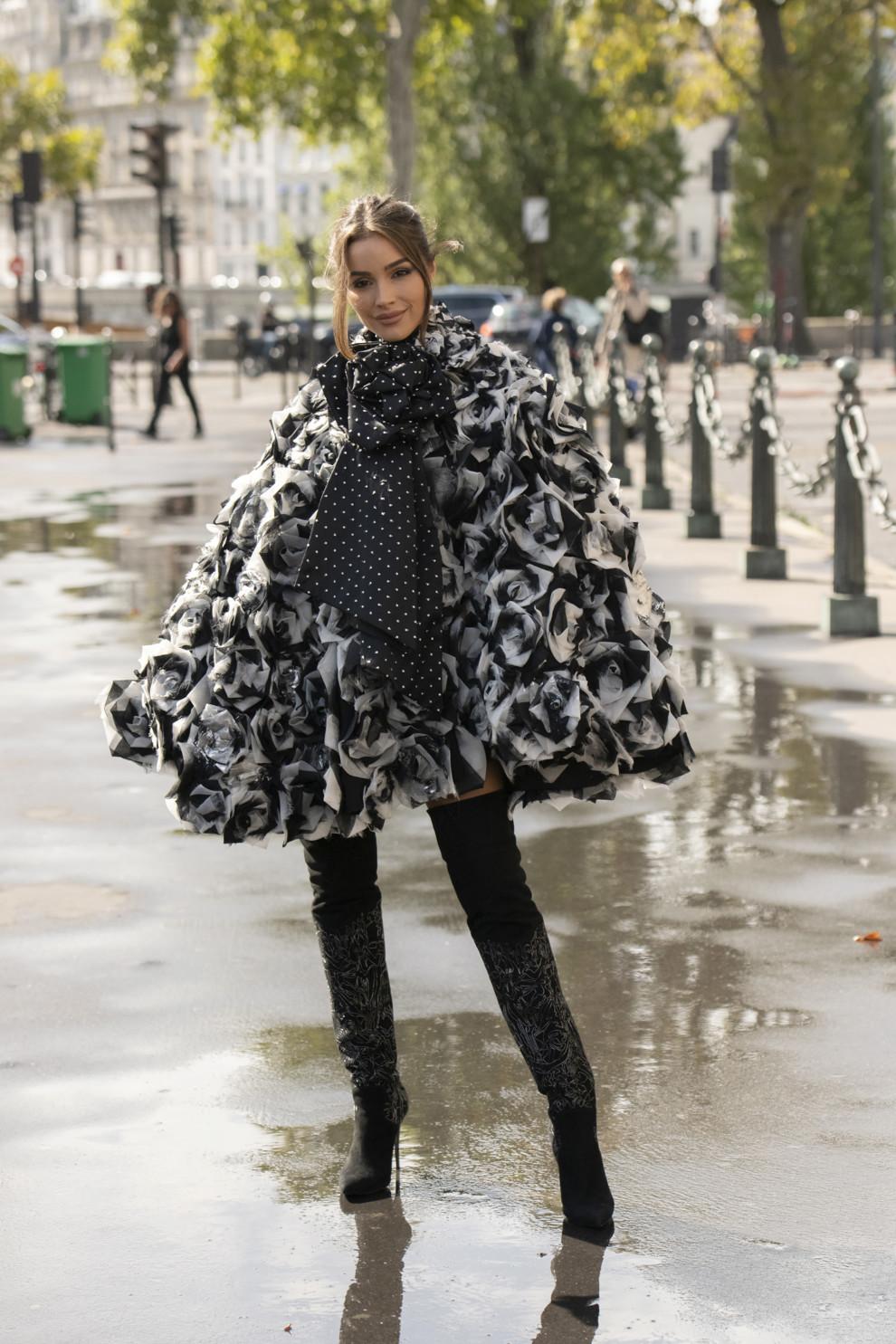 Оливия Калпо в Redemption во время Недели моды в Париже, сентябрь 2019