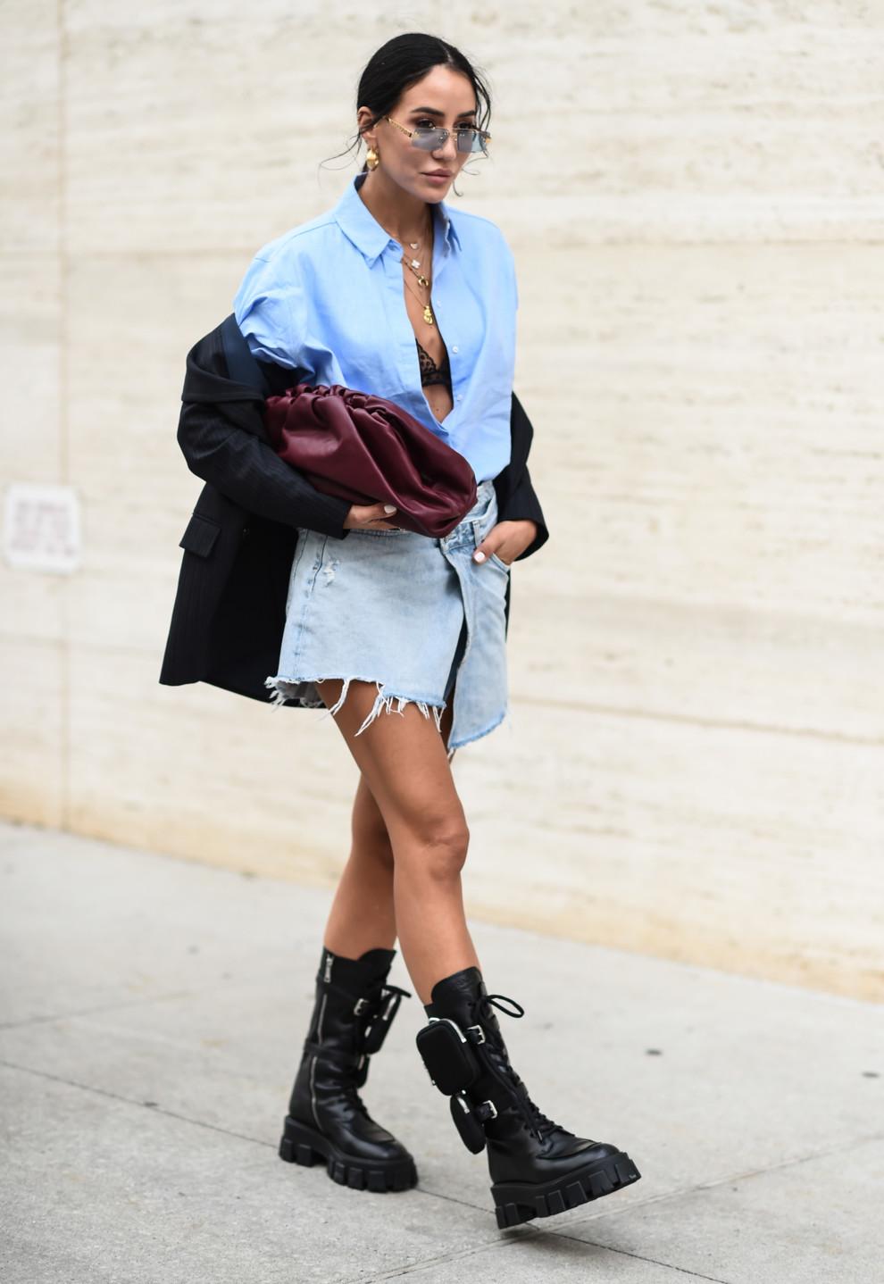 Неделя моды в Нью-Йорке, сентябрь 2019