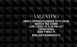 Прямая трансляция показа Valentino Men весна-лето 2019