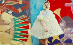 """Украинские модели Даша Хлистун, Женя Мигович и Анна Вивчар в видео story """"Цирк"""""""