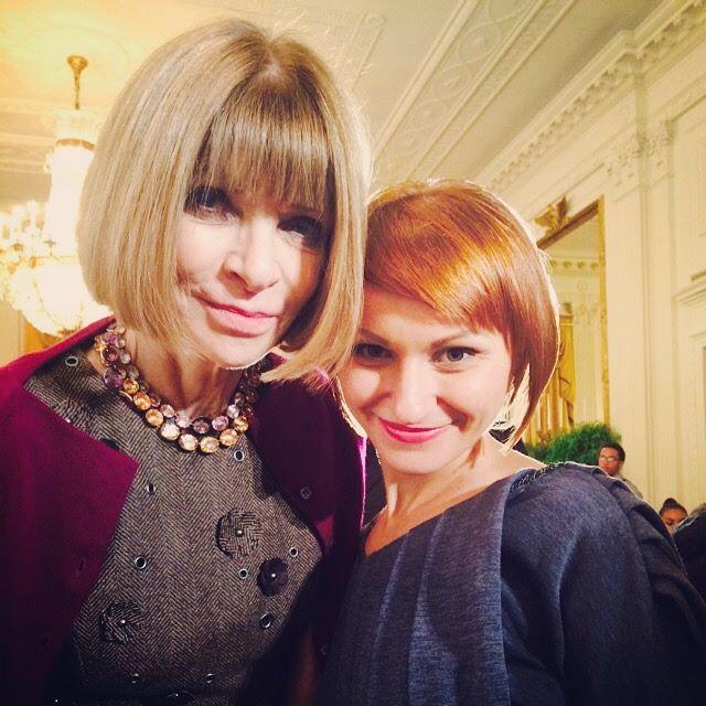 Анна Винтур и Наталья Коваль