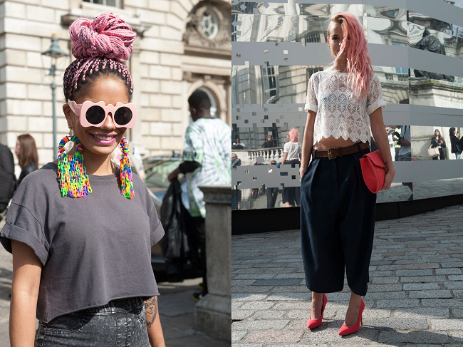 Streetstyle at London Fashion Week
