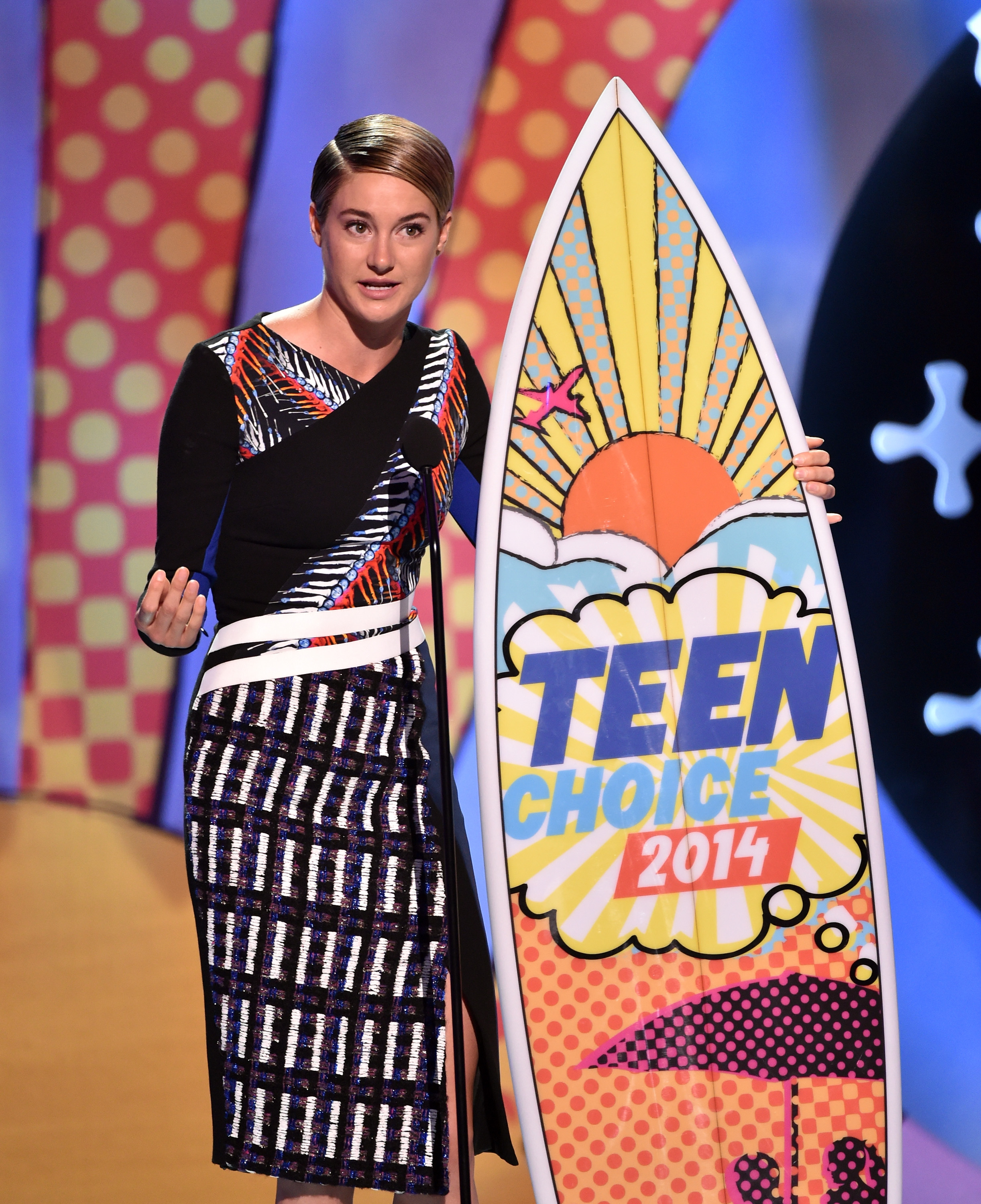 Шейлин Вудли на церемонии Teen Choice Awards 2014