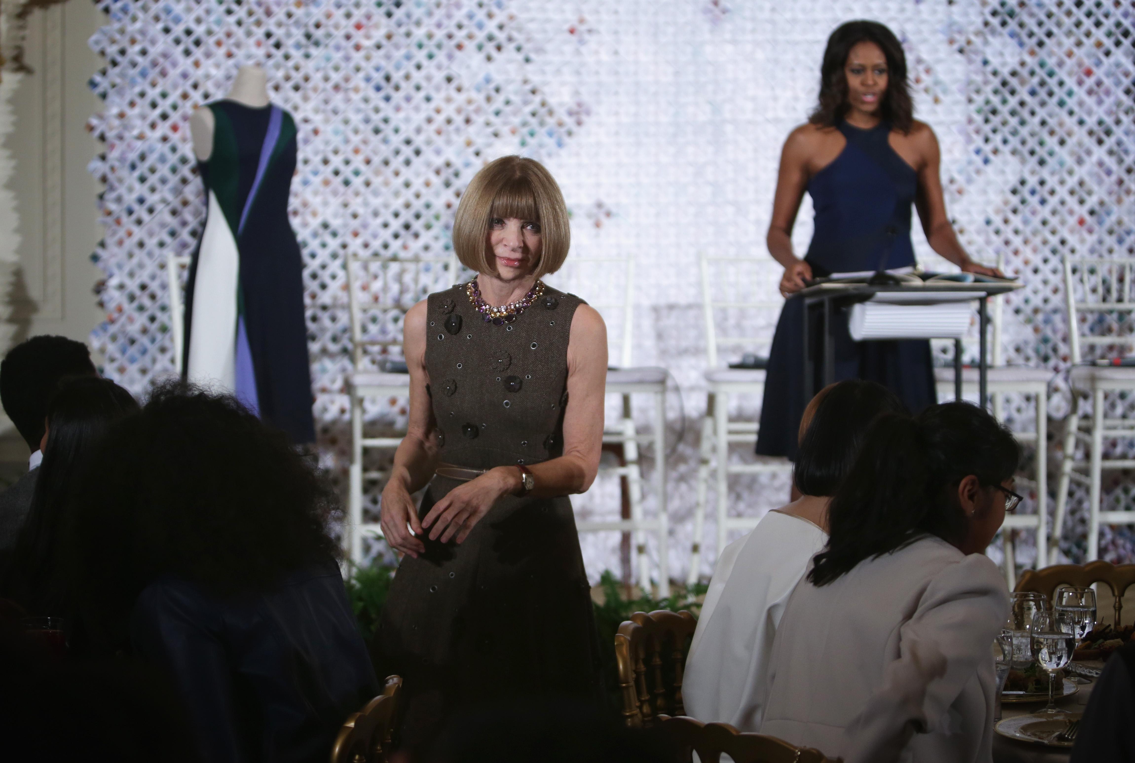 Мишель Обама и Анна Винтур