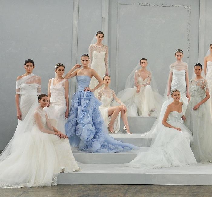 Коллекции свадебных платьев известных модных домов