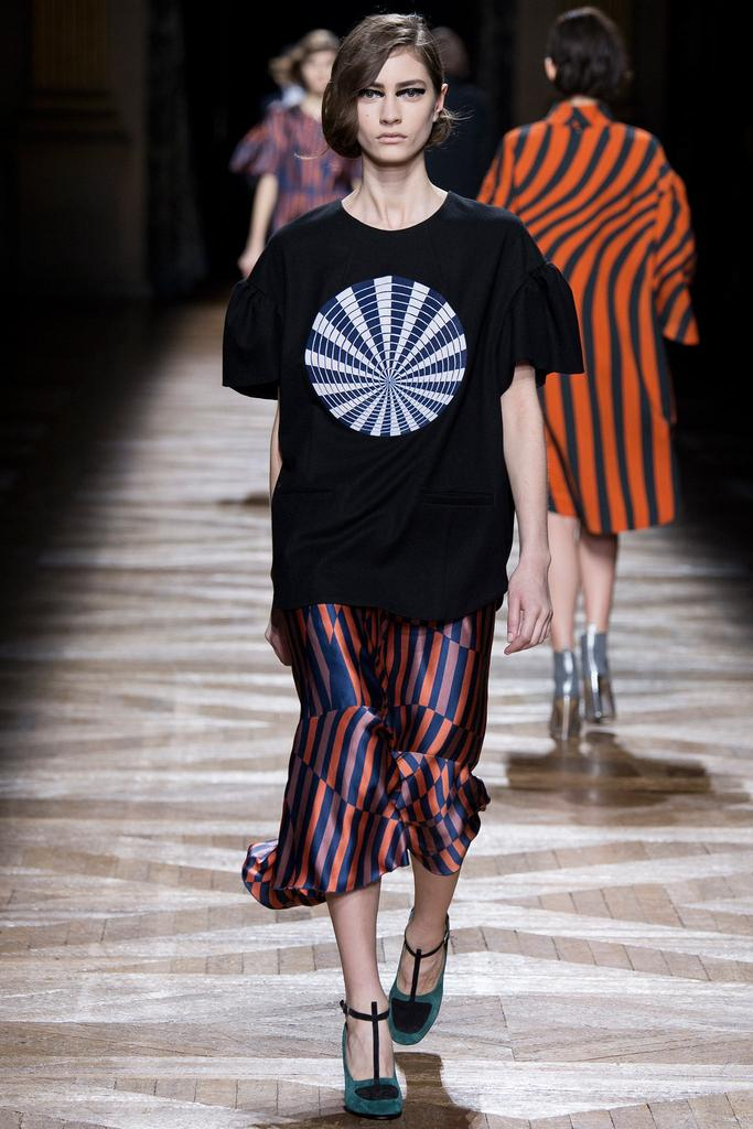 Dries Van Noten осень-зима 2014/2015