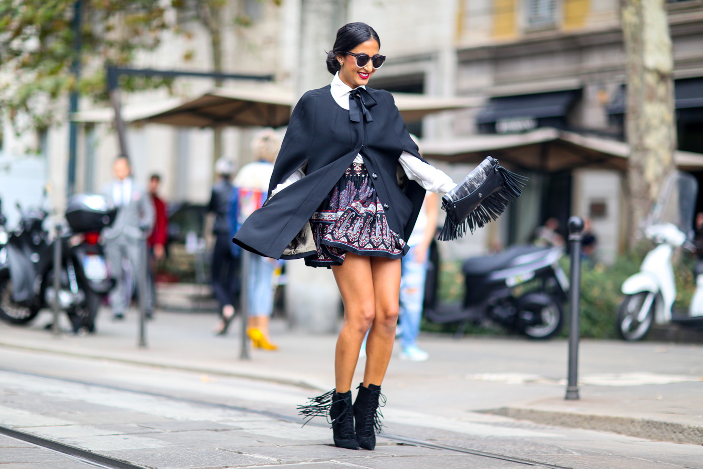 Milan Fashion Week Streetstyle