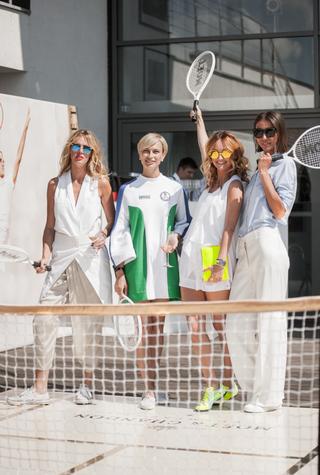 Теннисная вечеринка Moët Summer Tennis