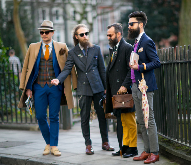 3a469dc41ed Streetstyle  Неделя мужской моды в Лондоне