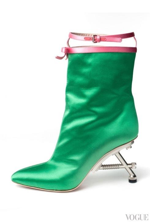 Тренд: необычные каблуки