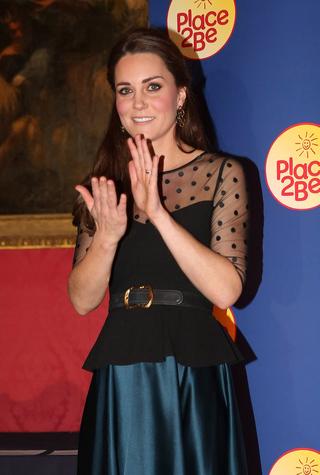 Герцогиня Кэтрин на благотворительной церемонии Place2Be