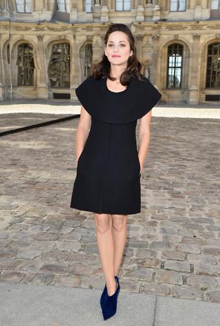 Гости показа Christian Dior, весна-лето 2015