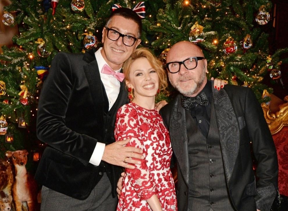 Рождественская елка Dolce&Gabbana в лондонском отеле Claridge's