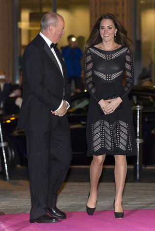 Герцогиня Кэтрин на благотворительном ужине Action On Addiction