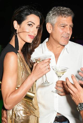 Романтичный уик-энд: Амаль и Джордж Клуни на Ибице