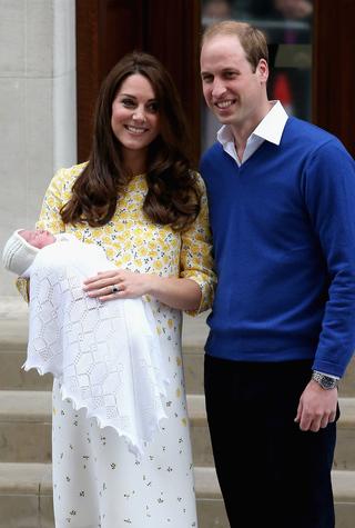 Миру представили новорожденную принцессу