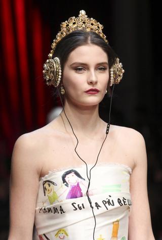 Детали коллекции Dolce & Gabbana осень-зима 2015/2016