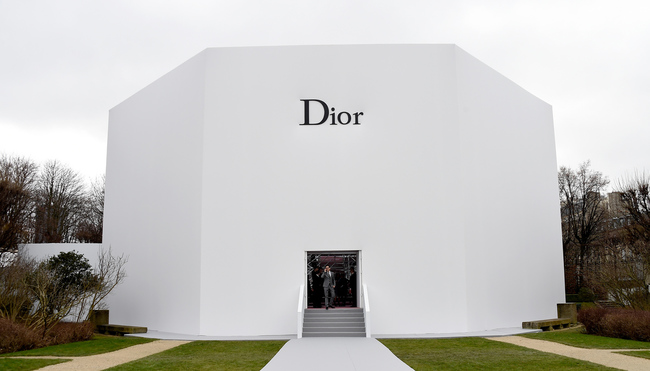 Гости показа Christian Dior Couture весна-лето 2015