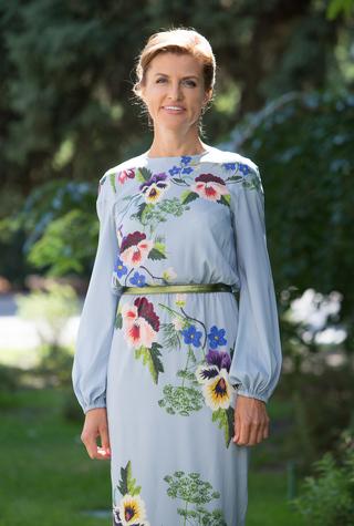 День независимости: Марина Порошенко в Navro