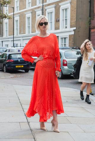 Streetstyle: Неделя моды в Лондоне, весна-лето 2015