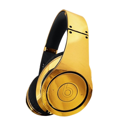 Наушники Gold beats Dr. Dre Studio